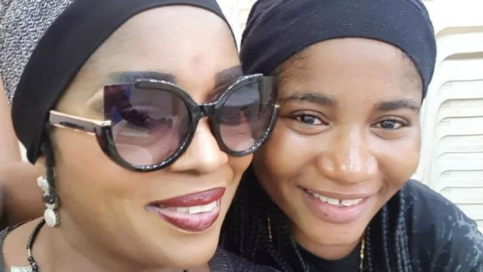 Ada Jesus and Rita Edochie