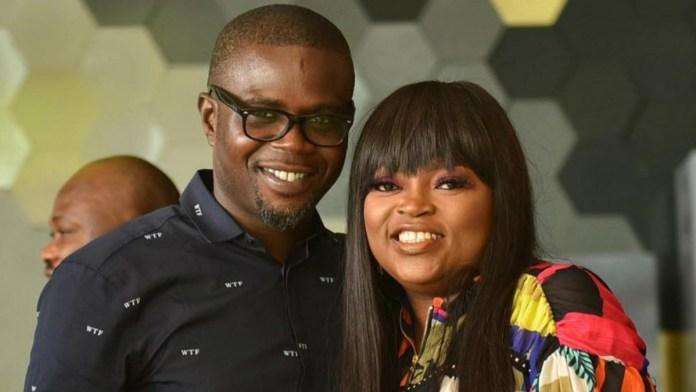 Funke Akindele & husband JJC Skillz