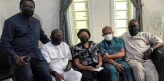 J9C visits Yinka Odumakin widow Joe Okei-Odumakin
