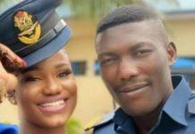Late NAF pilot Taiwo Asaniyi and fiancee