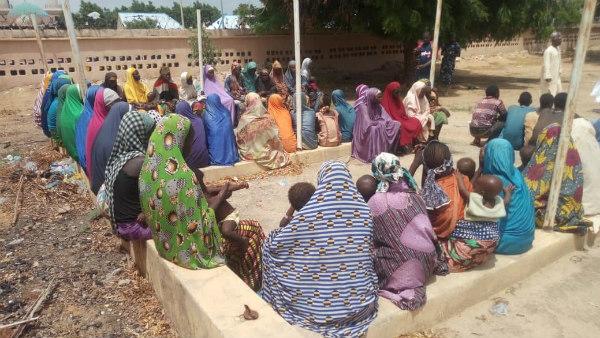 Kidnapped Zamfara mothers