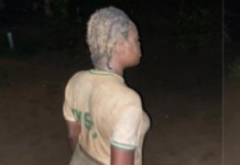 NYSC member punished by female soldier