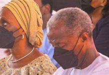 Yemi Osinbajo and Dolapo Osinbajo