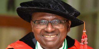 Kayode Adebowale University of Ibadan UI VC