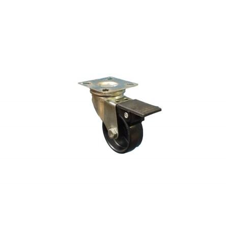 Plastic Wheel Plate Fitting Budget Castor Range