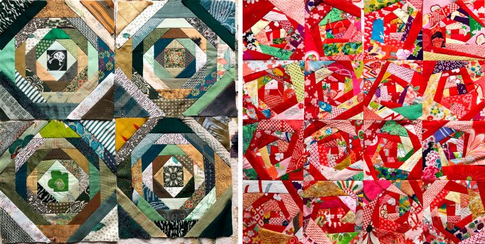 SAQA Retreat Quilts @ Susan Ball Faeder