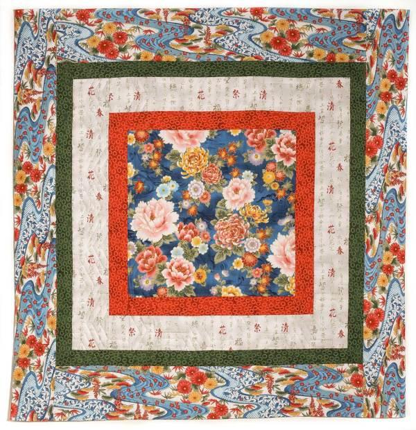 Multi-Color Showcase Quilt © Susan Ball Faeder