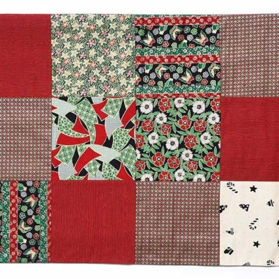 Holiday Patchwork © Susan Ball Faeder