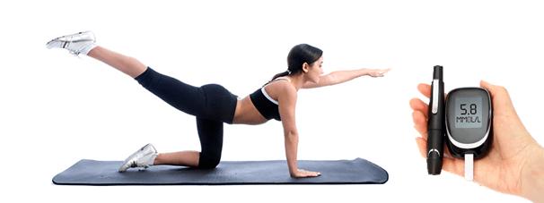 El ejercicio físico en las personas diabéticas