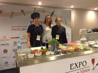 Taller de Cocina Saludable - Expo Delicatessen y Vinos 2014 (16)