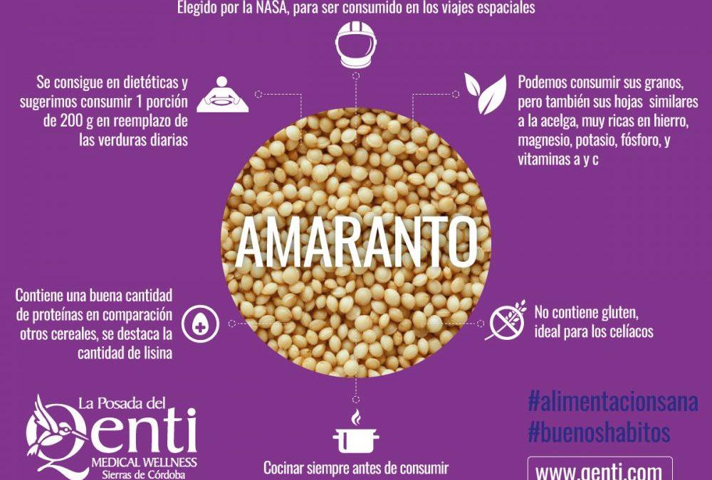 Alimentación saludable: Tabule de amaranto