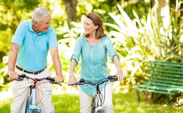 adultos mayores saludables
