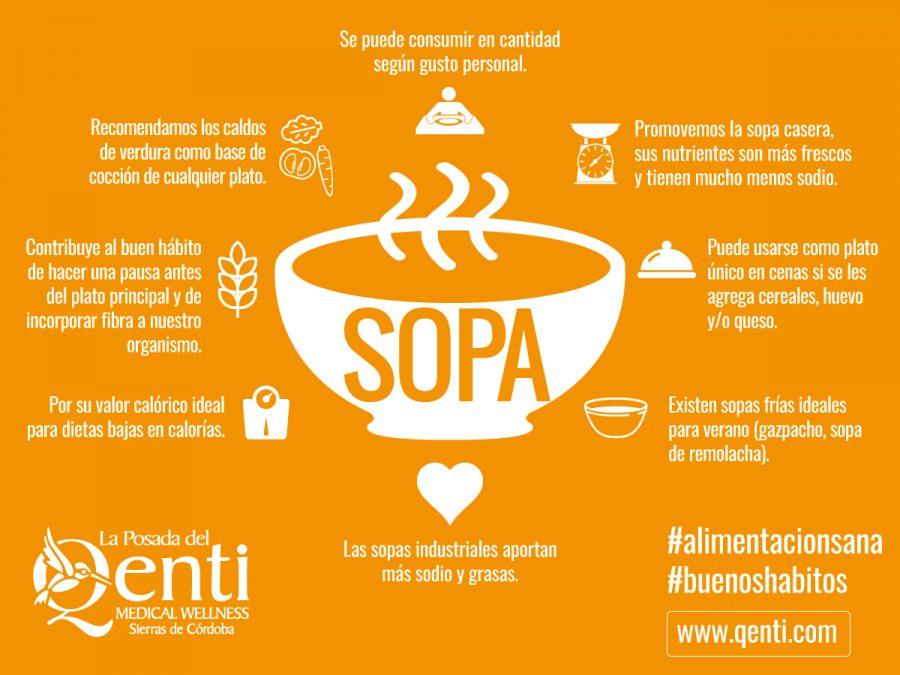Alimentación Saludable: sopa de choclo