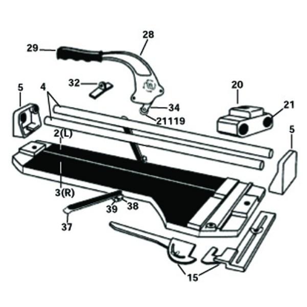 10524 Qep Tile Cutter Repair Parts