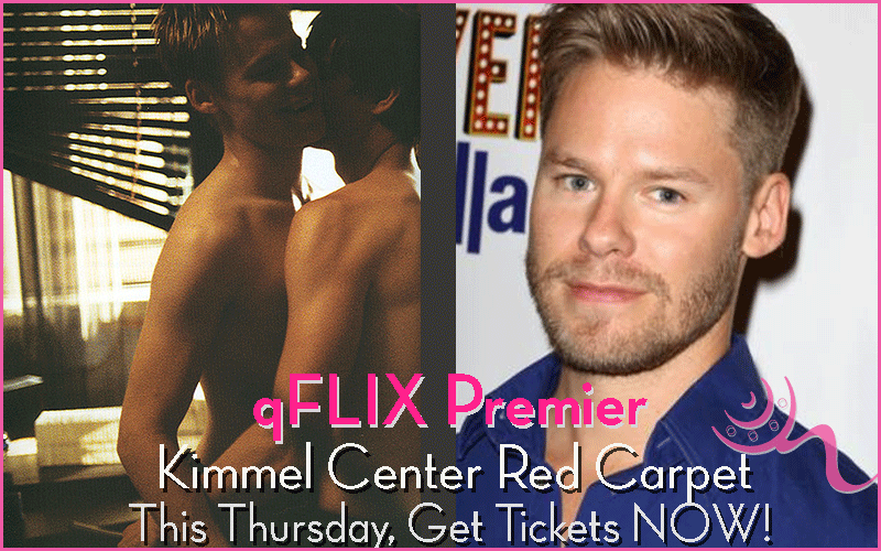 Twink-Blond-Hottie from Queer as Folk Screening New Film at qFLIX Philly!