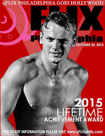 qFLIX Philadelphia Goes Hollywood with Tab Hunter