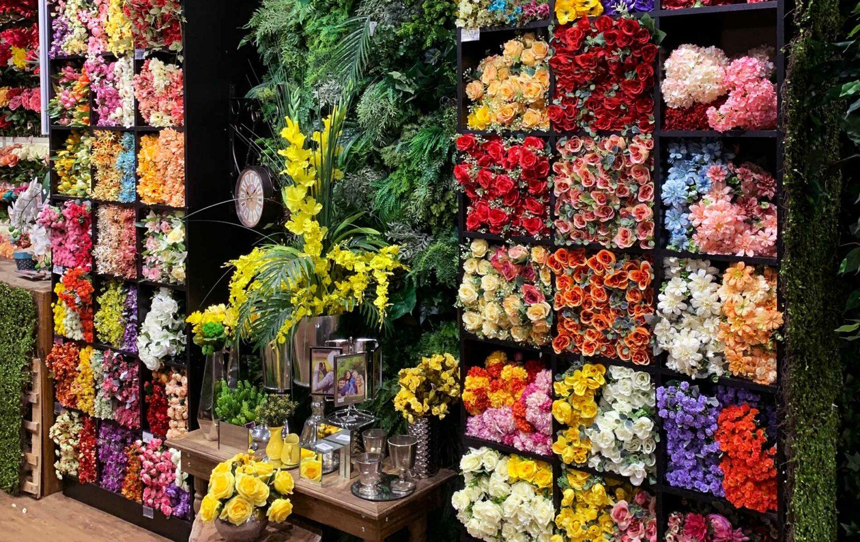 flores artificiais e plantas artificiais para comprar com bom preço