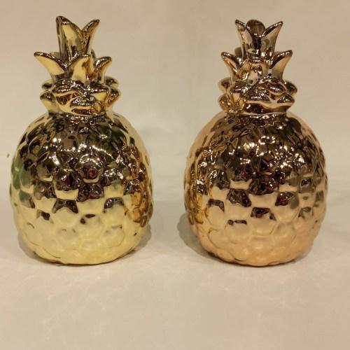Mini fruta abacaxi dourado