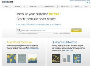 Quantcast - A Web Analytics Firm