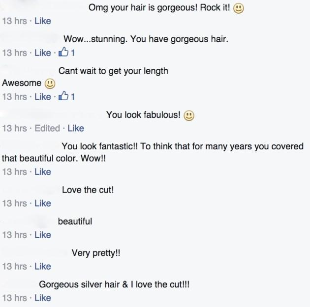 Screenshot from Facebook