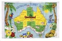 Australian Tourist Guide Queensland Historical Atlas