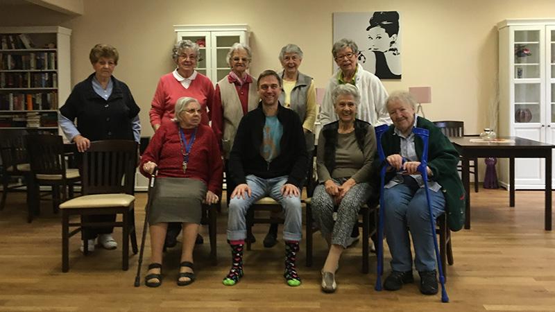 Senioren in Bewegung ist ein Bewegungs und Gedchtnistrainig