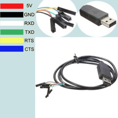 Usb To Rs232 Pinout Diagram John Deere Wiring Download 2x 6pin 5v Ftdi Ft232rl Ttl Serial Adapter
