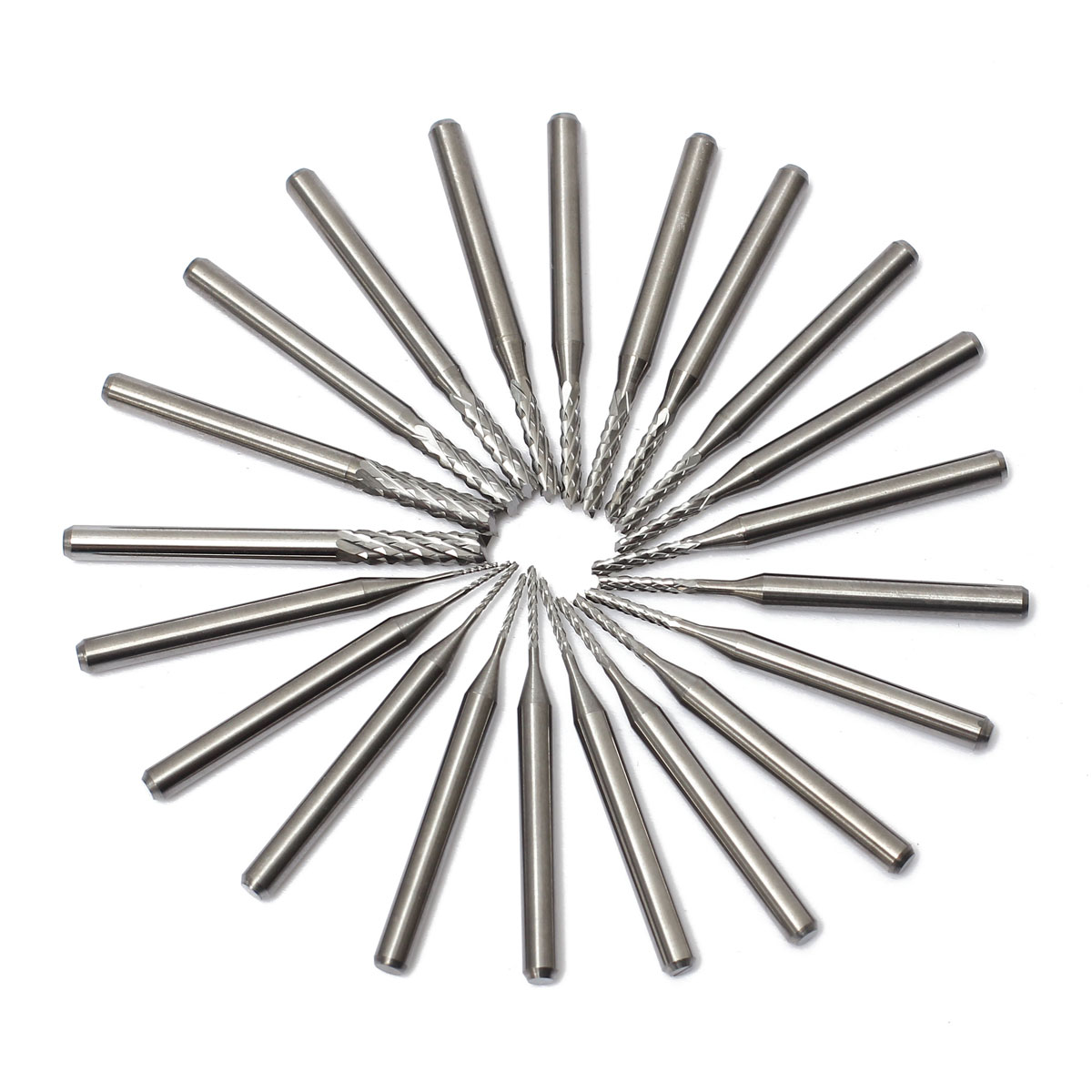 Blade Carbide End Mill Engraving Bits For CNC PCB Rotary