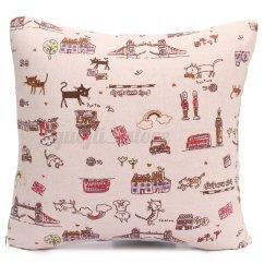 How To Clean Linen Cotton Sofa Clothes Texture Vintage Pillow Case Waist Throw Cushion