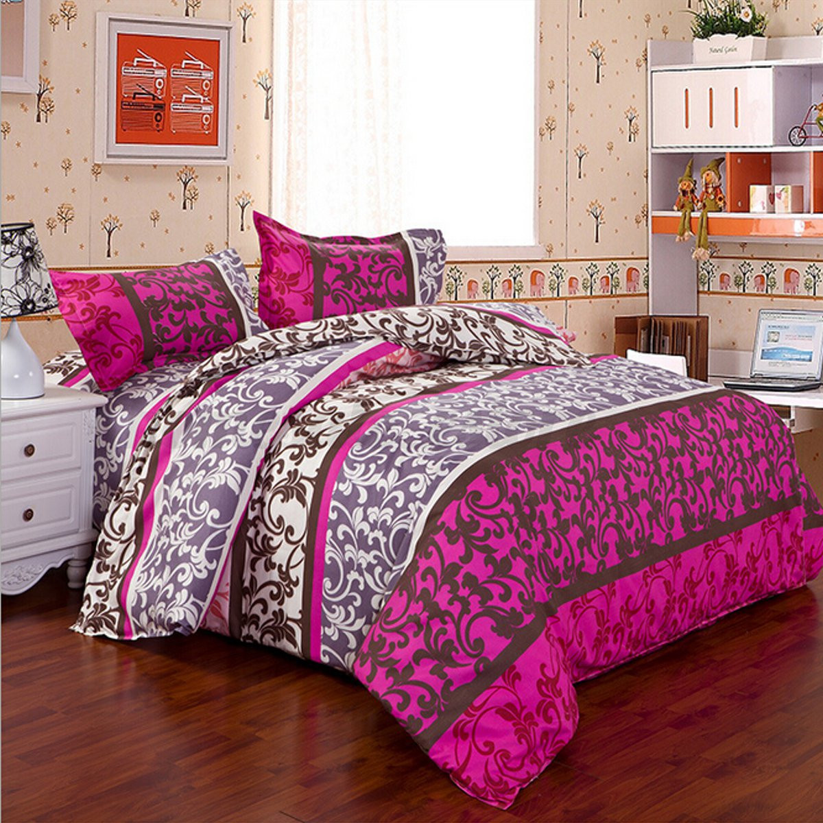 All Size Duvet Cover With Pillow Case Quilt Cover Bedding