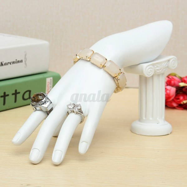 Display Holder Stand Mannequin Hand Detachable Jewelry