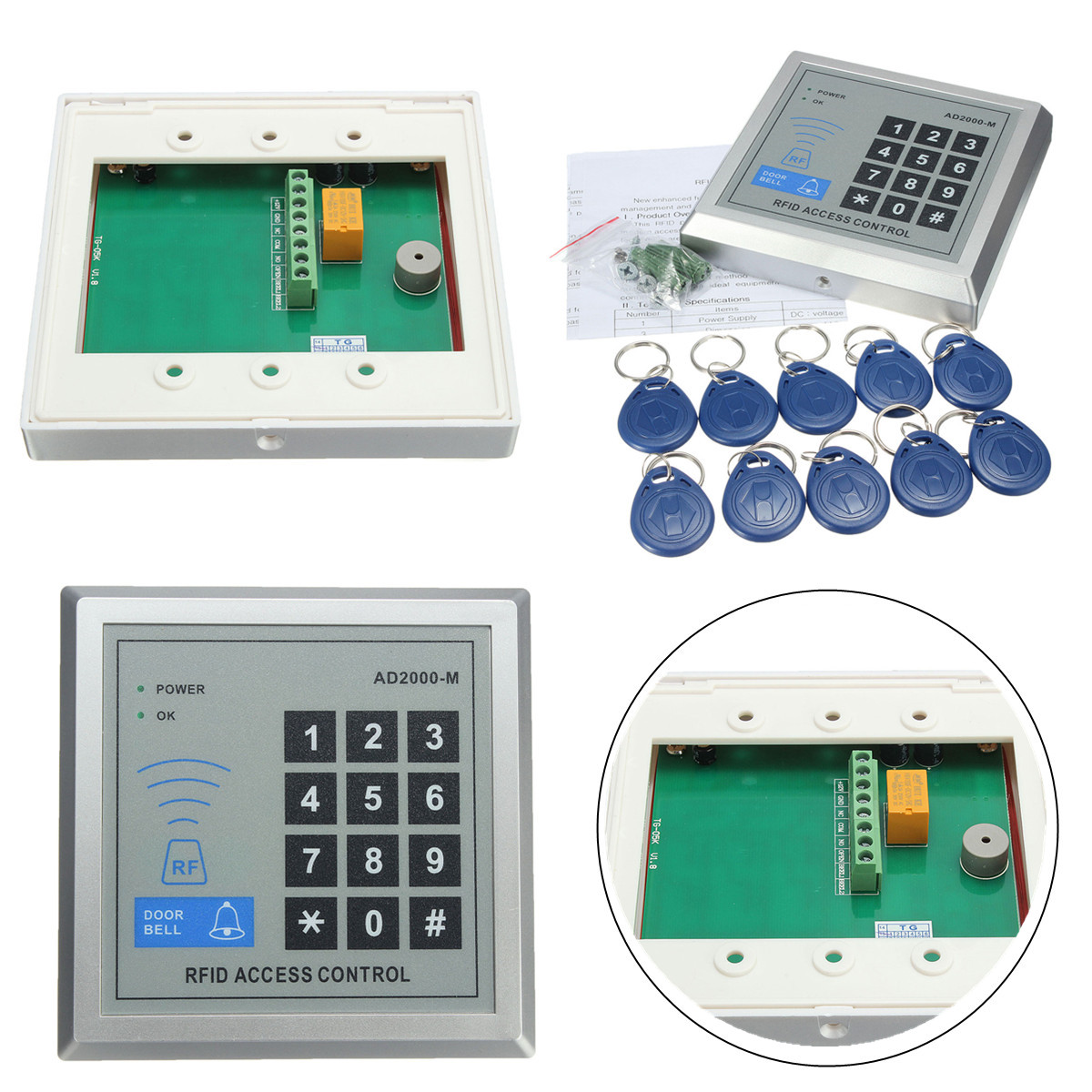 hight resolution of keys can access control wiring diagram wiring diagram magnetic lock schematic 10 keys 500 user ad2000