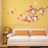 Large Sakura Flower Removable Wall Sticker Paper Mural Art
