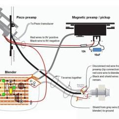 Guitar Pickup Wiring Diagram 2 Wire Pressure Sensor Fishman Dimarzio Elsavadorla