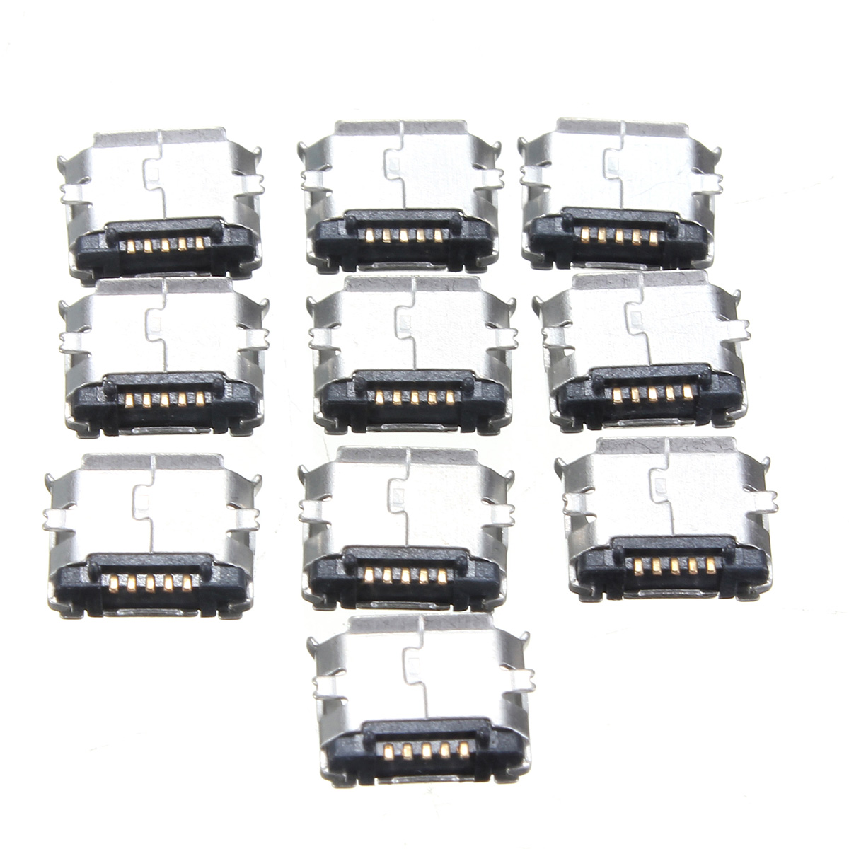 New 10pcs Usb Type B 90 Degrees Dip Female Socket Pcb
