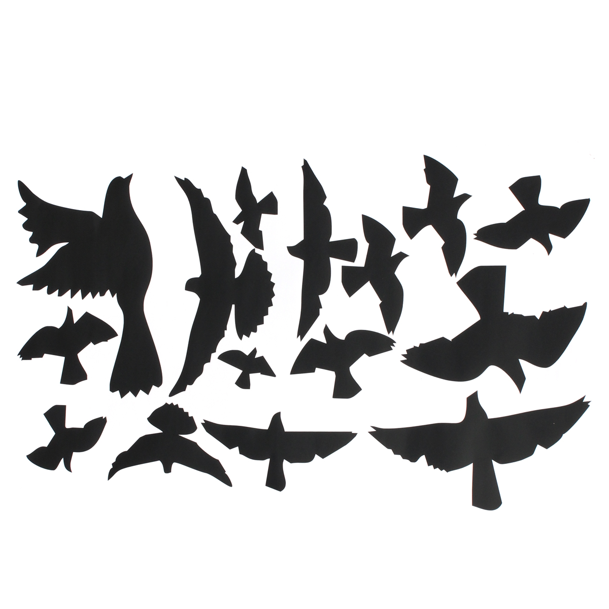 Removable Flying Pigeon Bird Vinyl Art Wall Sticker Mural