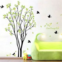 Tree Bird Quote Removable Vinyl Wall Decal Mural Home Art