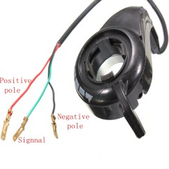 24v Electric Bike Controller Wiring Diagram Concentric Pot Universal Kit Thumb Throttle Speed Control E