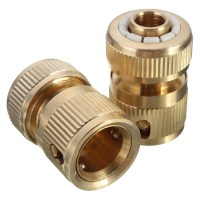 "4pcs Brass Water Hose Pipe Fitting Set Connector 3 4"" Tap ..."