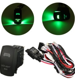 12v wiring harness green led light bar laser rocker switch on off 12v wiring harness green led light bar laser rocker switch on off [ 1200 x 1200 Pixel ]