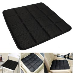 Chair Mat Bamboo And Ottoman Charcoal Breathable Seat Cushion Cover Pad For