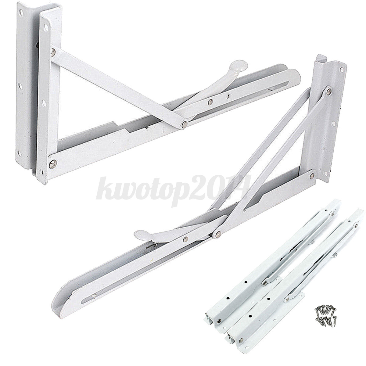 chair steel bracket old wooden 2pcs stainless folding shelf bench table