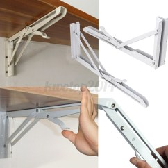 Chair Steel Bracket Kids Wooden Table And Chairs Set 2pcs Stainless Folding Shelf Bench