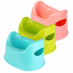 Plastic Toddler Chair Real Leather Dining Table Chairs Baby Children Kids Training Potty Toilet