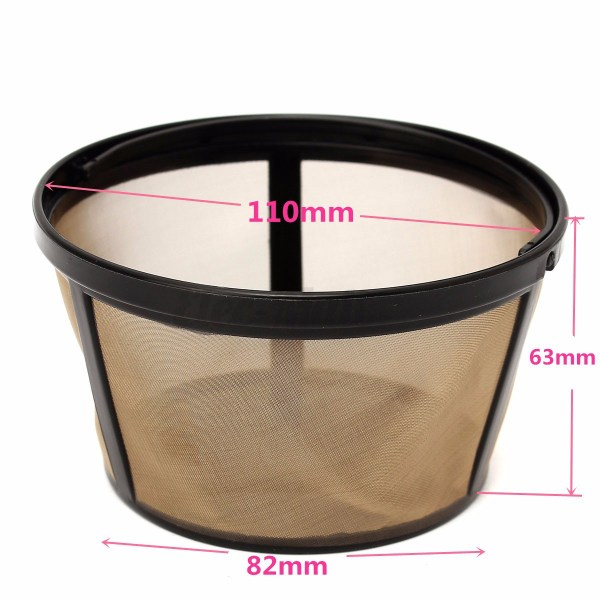 124 BasketStyle Gold Tone Permanent Filters For Mr