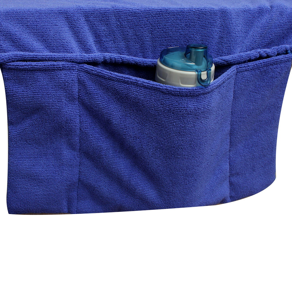 beach towels with pocket for lounge chair chairs and recliners sun cover tote bag large