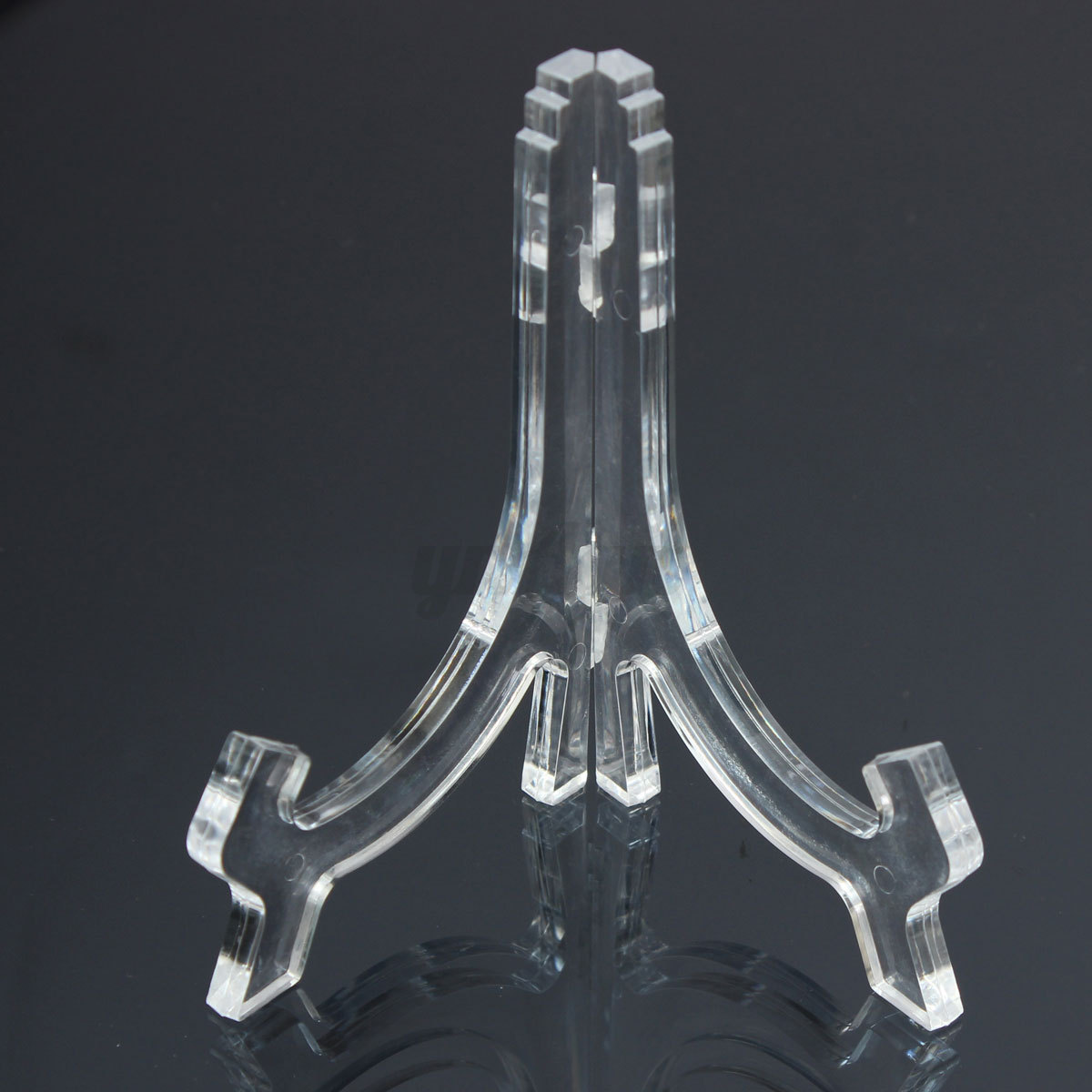 Transparent Clear Acrylic Plate Stand Frame Easel Holder