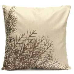How To Clean Linen Cotton Sofa Throw Pillows For Dark Brown Leaf Pillow Case Cover Bed Pack