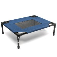 Dog Pet Cat Elevated Bed Folding Portable Raised Camping ...