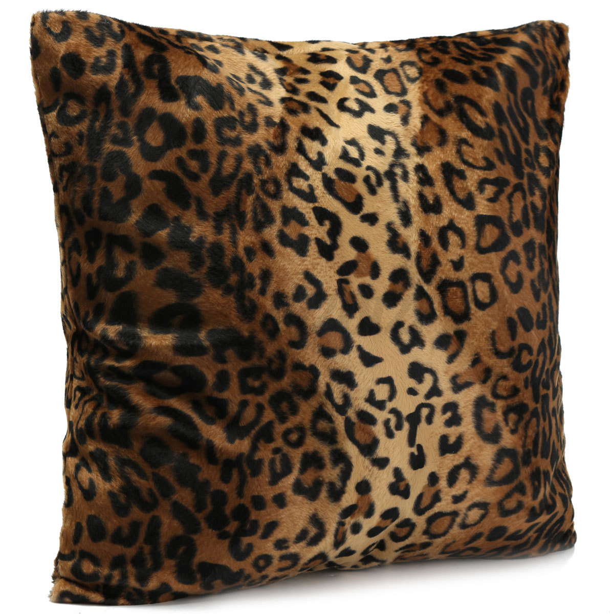 sofa throw covers asda vitra animal leopard tiger zebra pillow case cushion